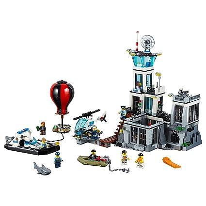 Amazoncom Lego City Police Prison Island 60130 Building Toy Toys