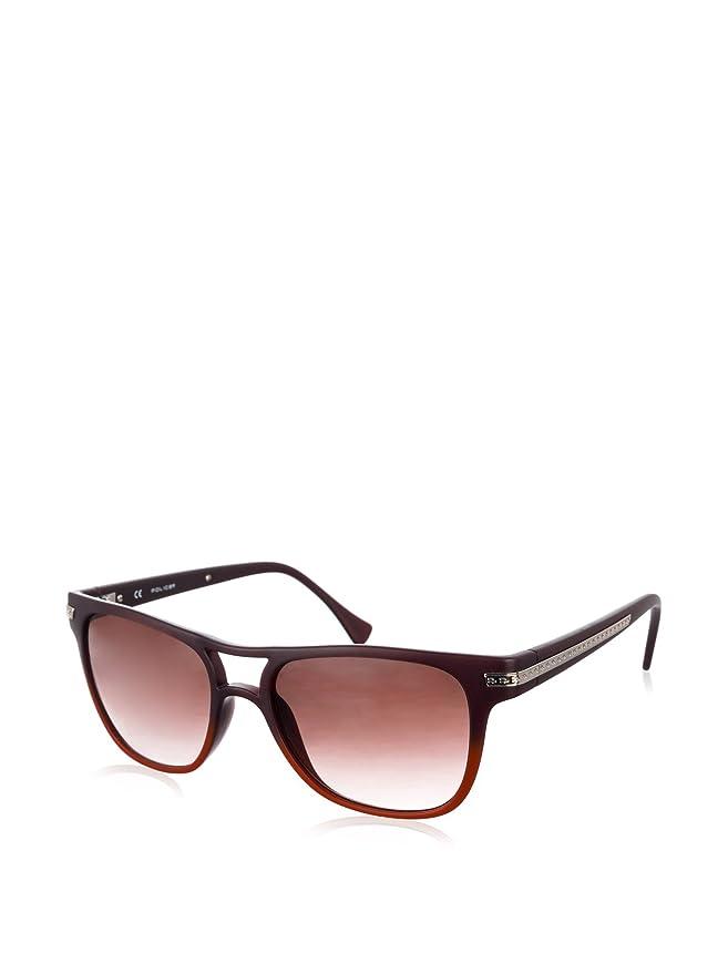 Police Gafas de Sol S1801-AGUM (54 mm) Granate/Rojo: Amazon ...