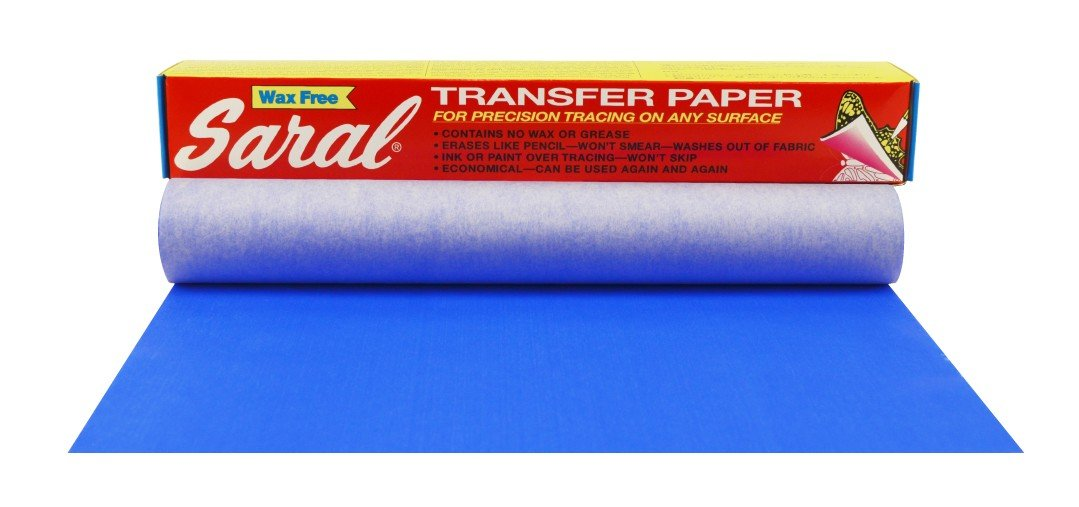 Saral Transfer (Tracing) Paper Roll 12-inch x 12 ft, Blue non-photographic by Saral
