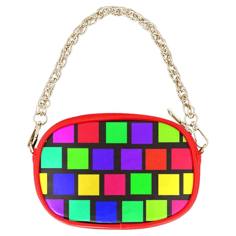 ADEDIY Colorful Checkered Chain Purse (M1626) Mini Handbag