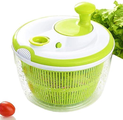 Ensalada Spinner Secadora rápida Diseño libre de BPA en seco ...