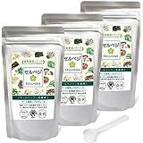 セルベジ オールインワン栄養素 (野菜・海藻・キノコ粉末) 食物繊維ですっきり体感 (3ヶ月分)