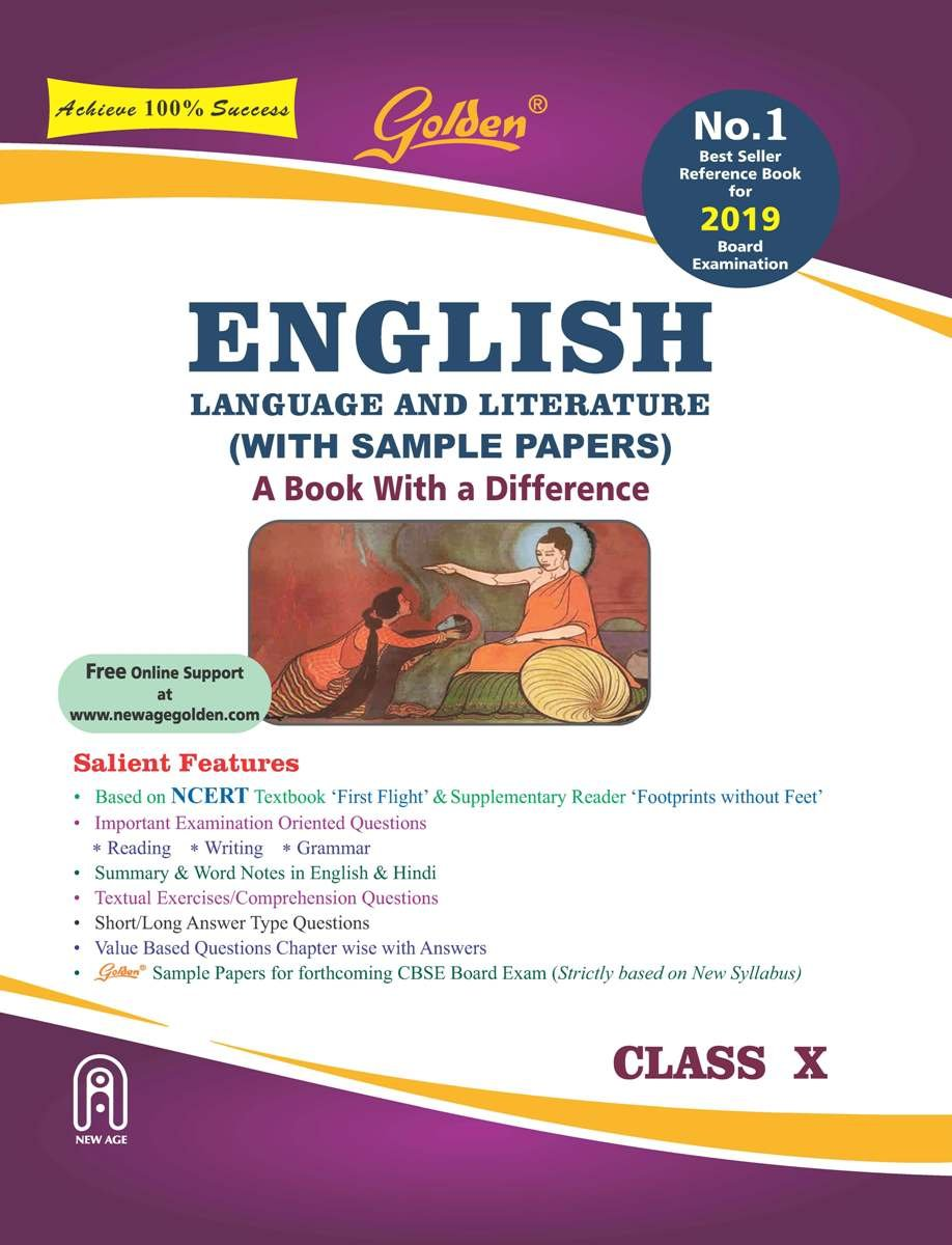Golden English Language and Literature: With Sample Papers A book with a  Differene for Class - 10 For 2019 Board Exams: Amazon.in: R.K. Gupta: Books