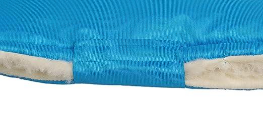 Kaarsgaren Handw/ärmer f/ür Kinderwagen Dunkelblau Universalgr/ö/ße f/ür Buggy Radanh/änger Blau warmer Handmuff mit Bio-Baumwolle Innenfutter Jogger