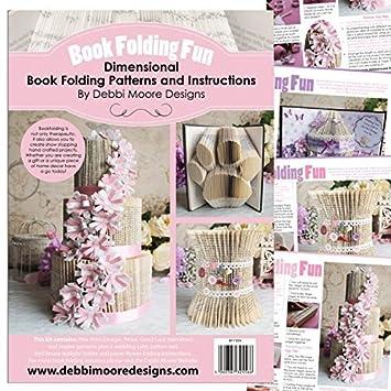 Amazon Debbi Moore Designs Book Folding Fun Dimensional Book