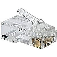 PremiumCord Connector RJ45 8-polig - voor kabels, verpakking met 50 stuks in zak