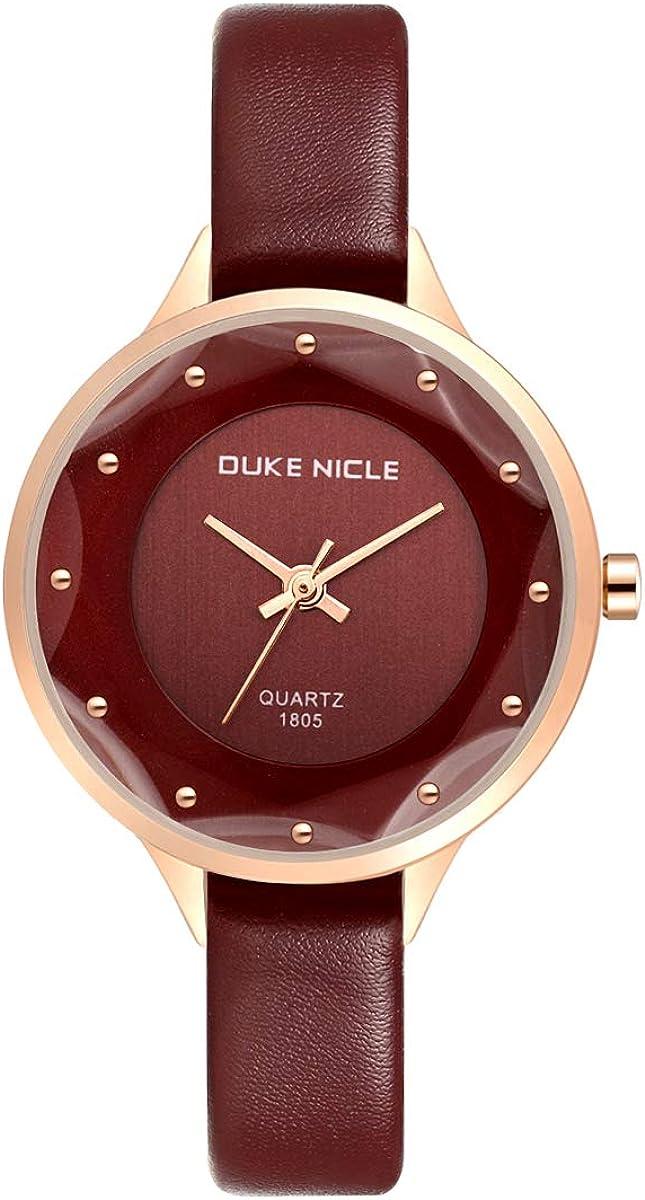 Womens Fashion Watch,Ladies Elegant Waterproof Quartz Roman Numeral Casual Dress Wrist Watches for Woman