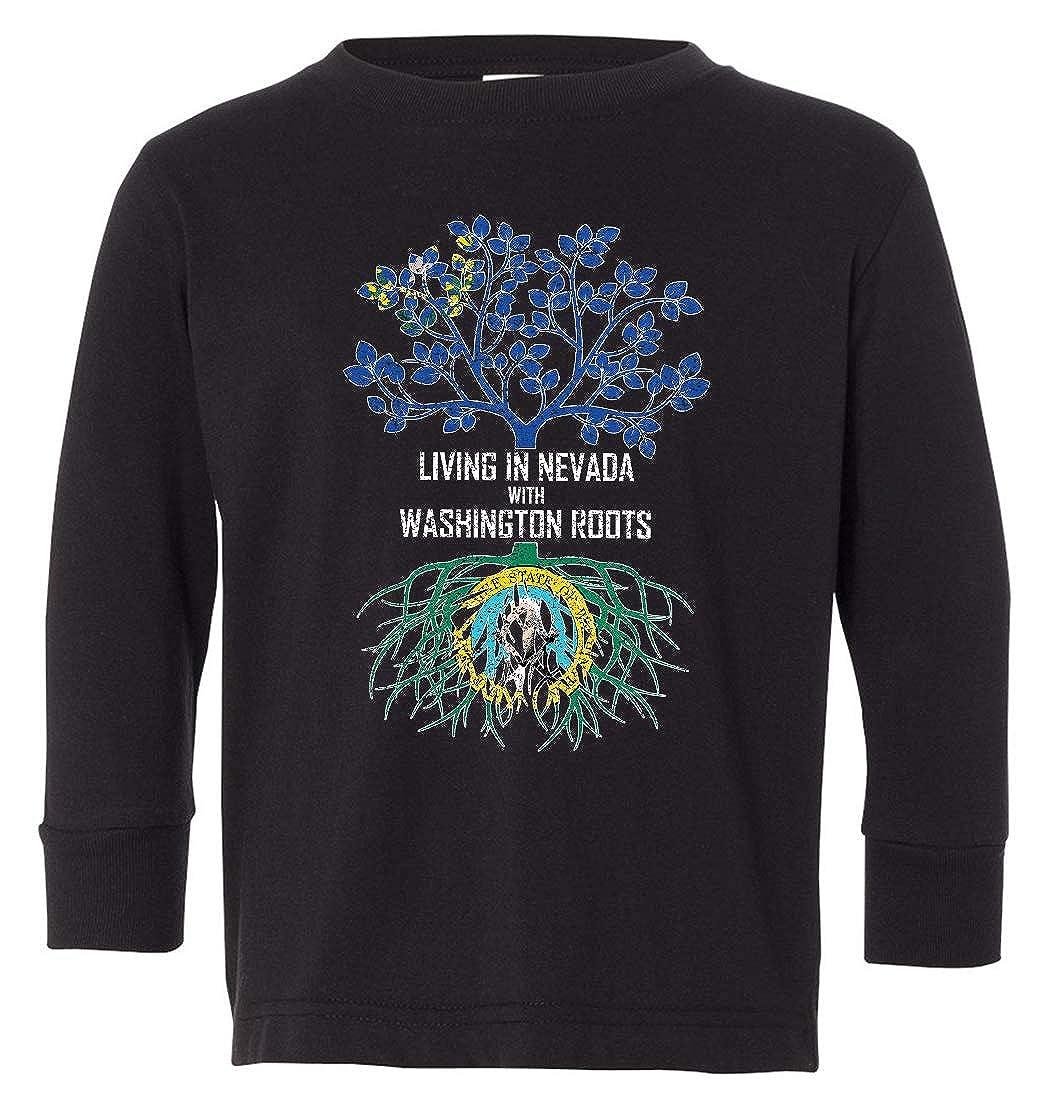 Tenacitee Babys Living in Nevada Washington Roots Shirt
