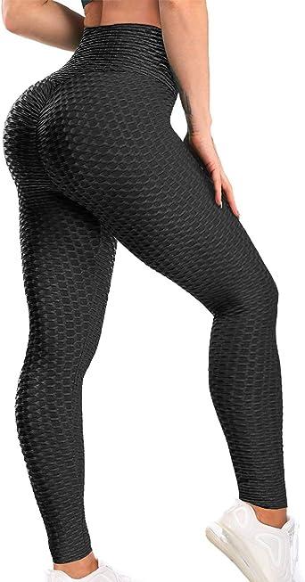 Women Yoga Gym Anti-Cellulite Leggings Fitness Sports Butt Lift Elastic Pants G7