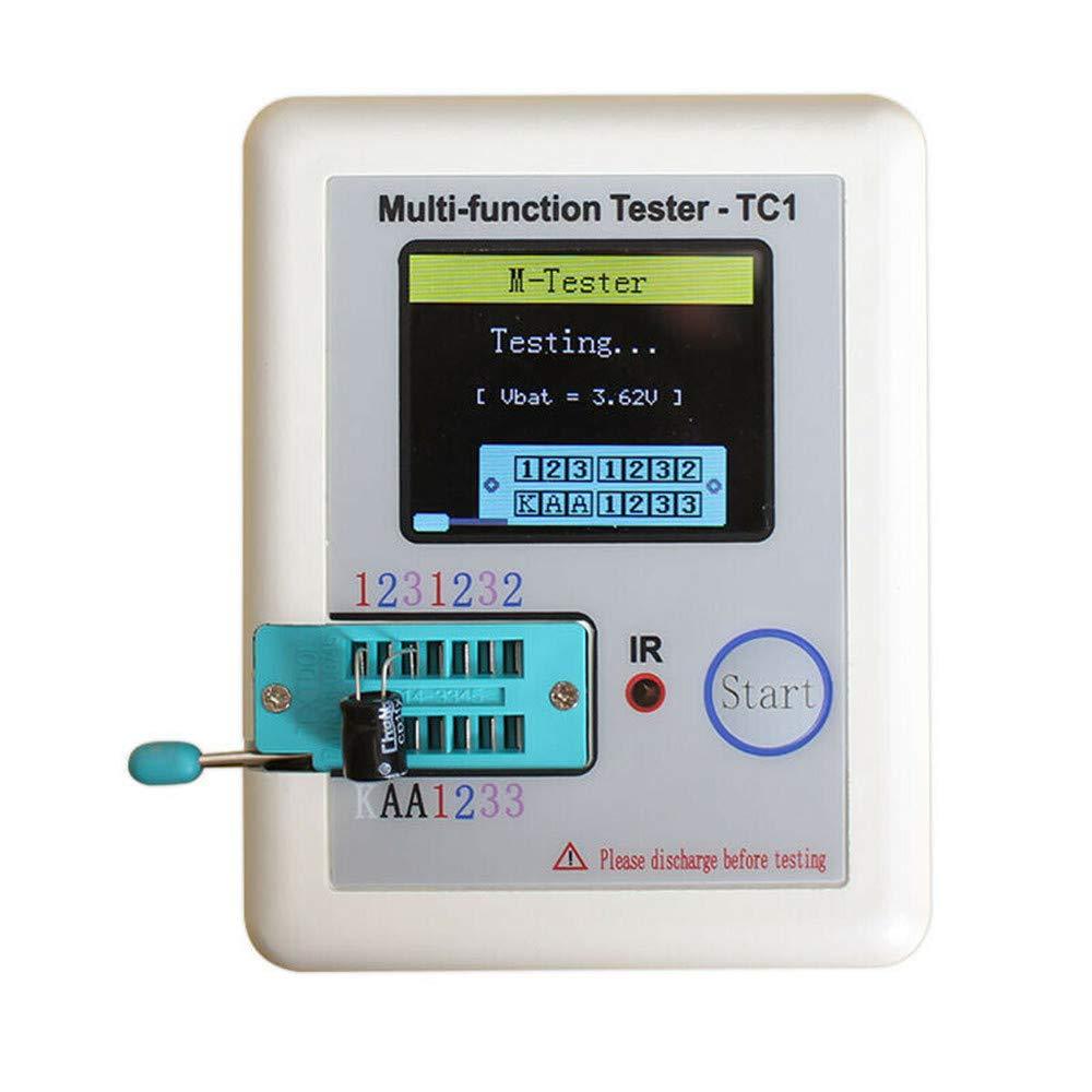 LCR-TC1 Transistor Tester TFT Diode Triode Capacitance Meters ESR PNP NPN MOSFE
