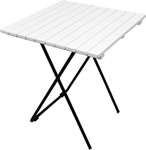 Mojawo Mesa plegable para camping, mesa auxiliar de jardín ...
