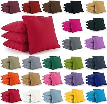 Colors Free Donkey Sports 8 ACA Regulation Cornhole Bags.Corn-Filled 25