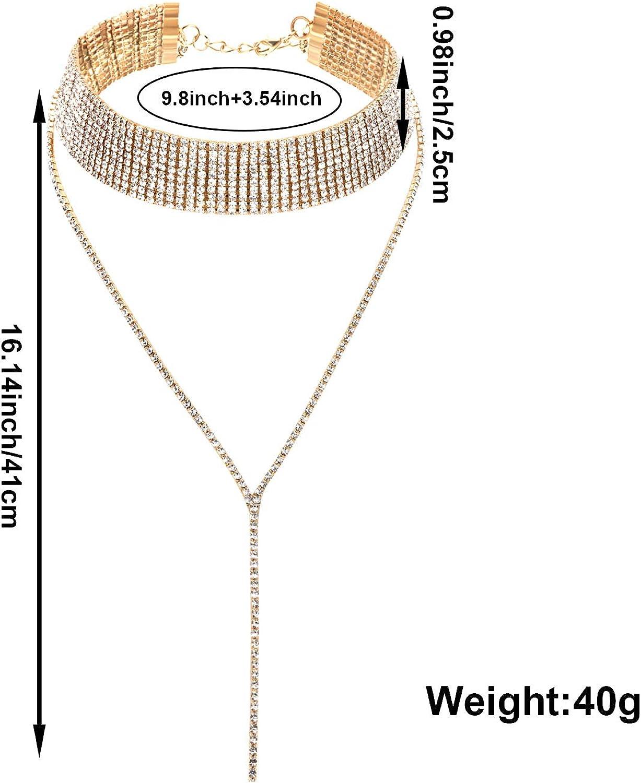VANGETIMI Lock Pendant Necklace Statement Long Chain Punk Multilayer Choker Necklace for Women Men Girls
