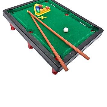 juguete juego mini bola mesa de billar piscina escritorio para nios negro