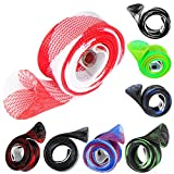 Gotd Fishing Rod Cover Rod Braided Strap Reel Cover Glove Protector (10 Pack)
