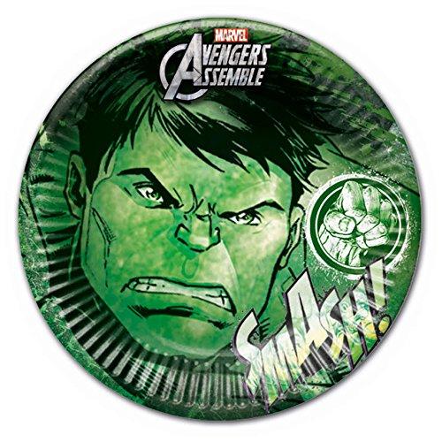 8 Marvel's Avengers Green Hulk Teen Birthday Party Large 9