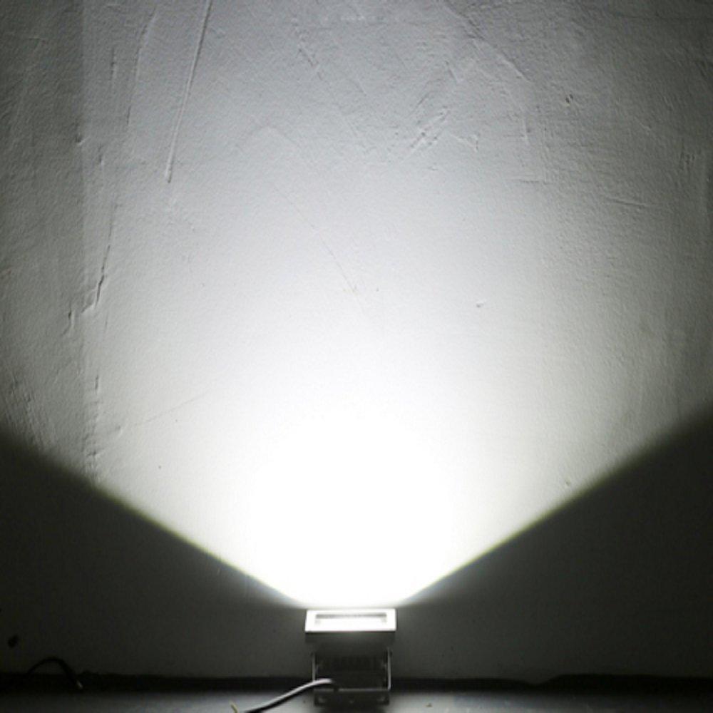 HimanJie 50W Ultraheller Fluter IP65 Wasserdicht Flutlicht ersetzt ...