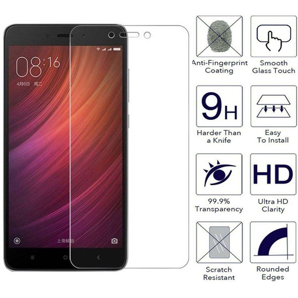 Loyiigo 3 Unidades Protector Pantalla Xiaomi Redmi Note 4/4X, 9H ...