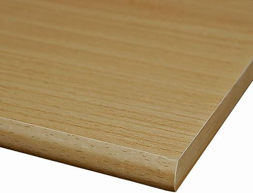 runde Kante M/öbelbauplatte Regalbrett Zwetschge 1150 x 300 x 16 mm 4 Seiten umleimt