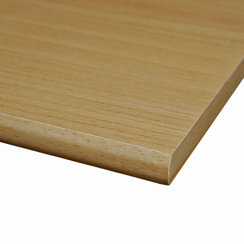 4 Seiten umleimt M/öbelbauplatte Regalbrett Buche 1000 x 400 x 16 mm runde Kante