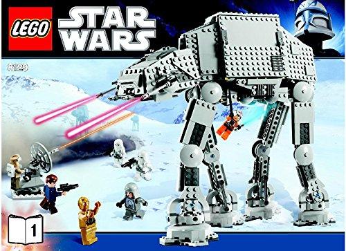 [INSTRUCTION MANUALS for Lego Star Wars Set #8129