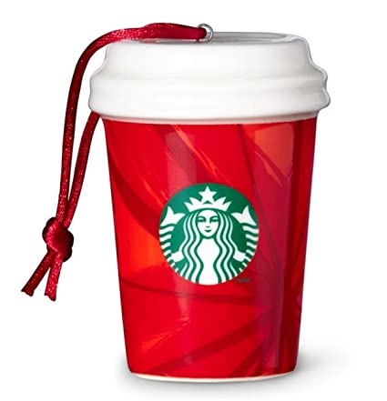 Starbucks 2014 Red Cup Christmas Ornament (011039022) - Amazon.com: Starbucks 2014 Red Cup Christmas Ornament (011039022