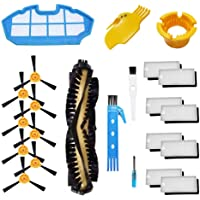 Theresa Hay Accessories Kit for Ecovacs Deebot N79S N79 Robotic Vacuum Cleaner Filters, Side Brushes,Main Brush 1+1+8+8…