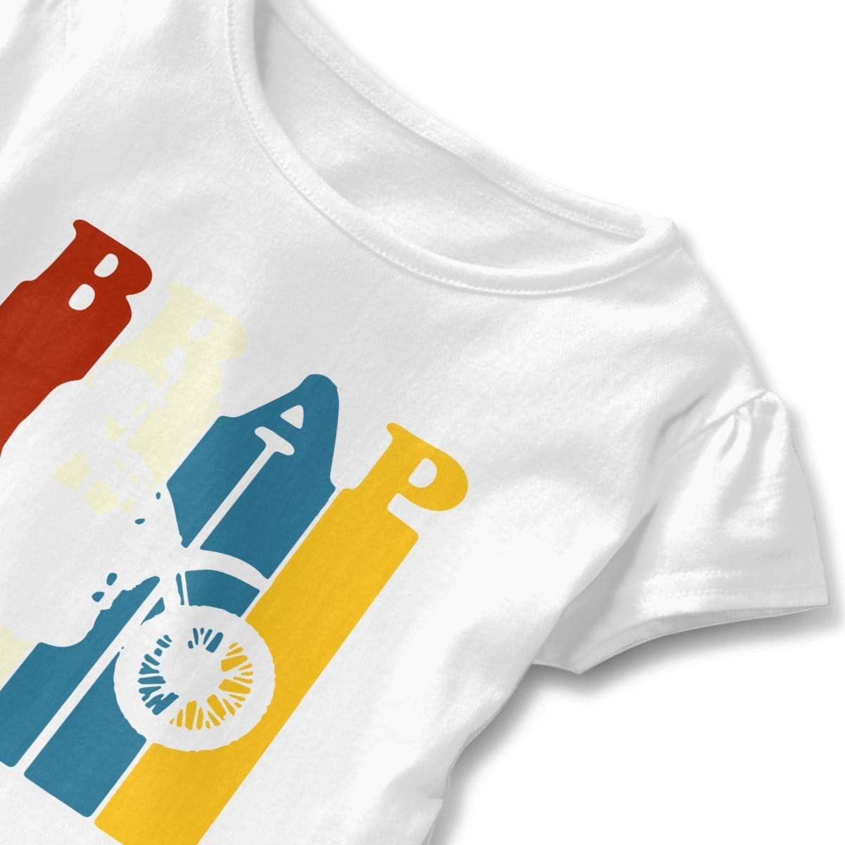 SC/_VD08 Brraaap Dirt Bike Motocross Kids Children Short-Sleeved Shirt Clothes
