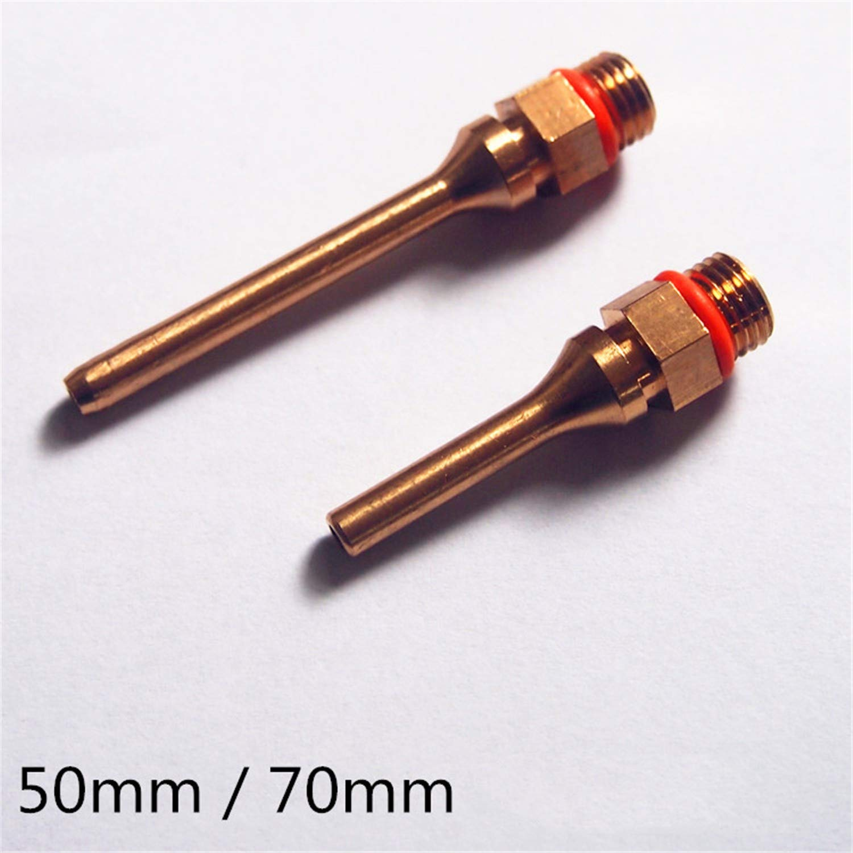 Colle thermofusible Bouche de Pistolet de Colle buse de cuivre t/ête de Colle t/ête Longue buse de Colle Bronze 50mm