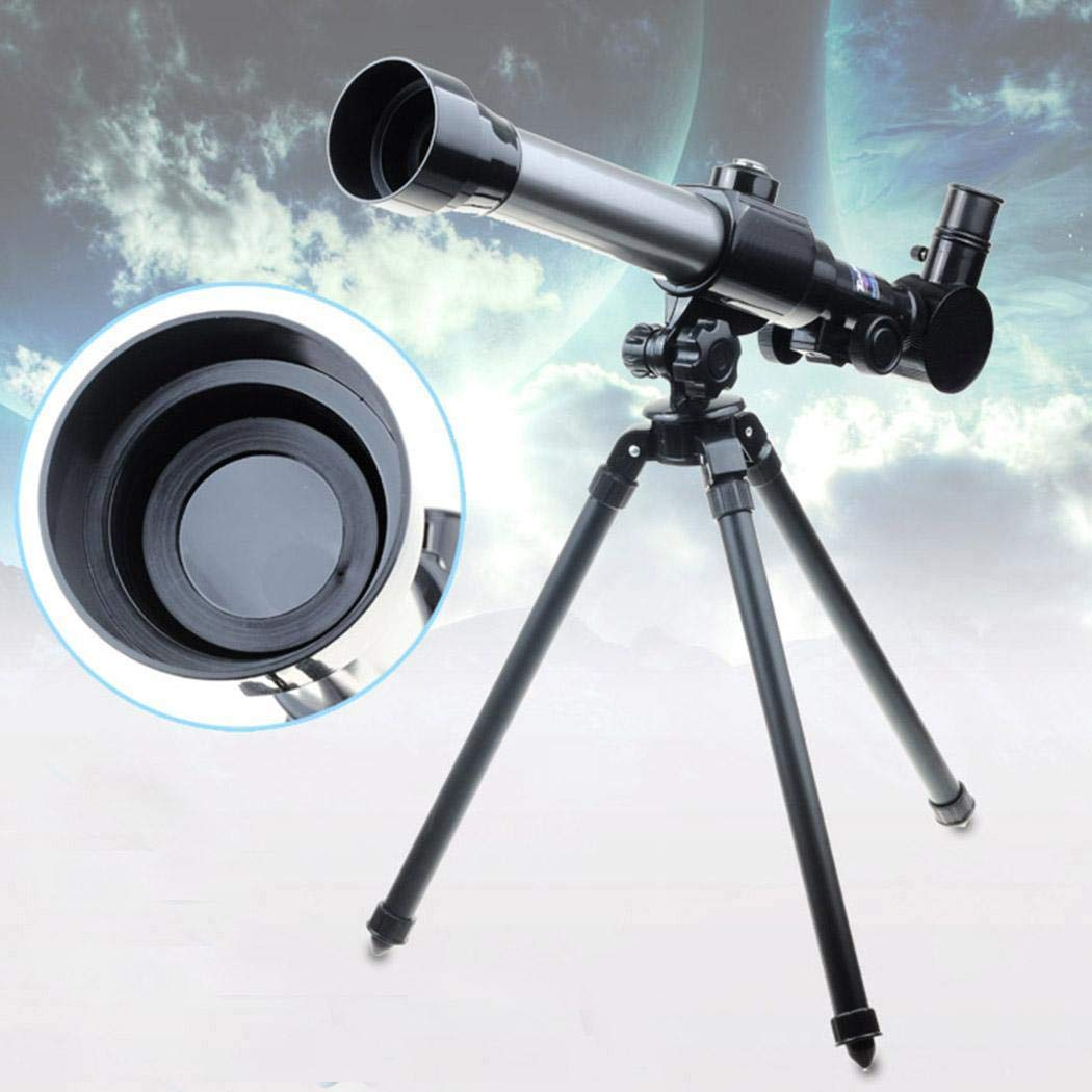Kikole 20X 30X 40X Refractor Astronomical Telescope for Children Combo with Tripod Night Vision Monoculars by Kikole