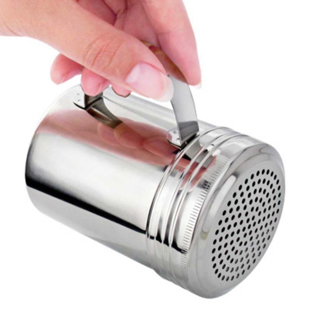 Pote de condimento de acero inoxidable salero vinagreras set Cruet de tarro de especias Especia latas botellas y latas en la cocina-B