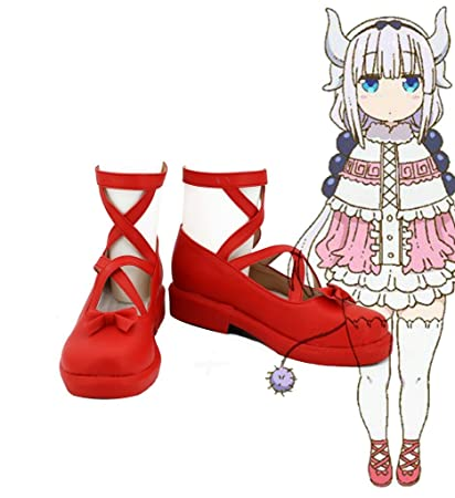 Miss Kobayashi's Dragon Maid Kanna Kamui Cosplay Shoes Boots Custom Made 1