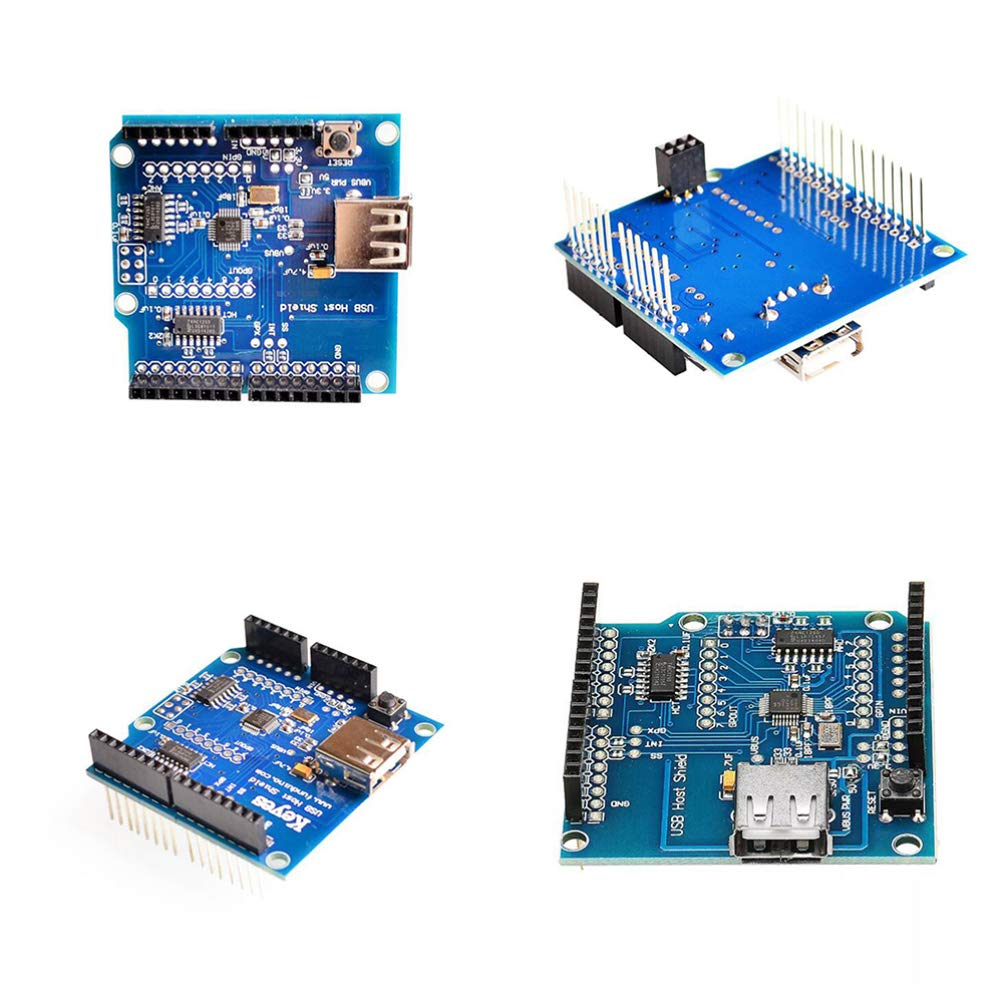 STOBOK USB Host Shield Compatible with Arduino for Android ADK Support for UNO MEGA