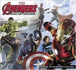 Avengers: Age of Ultron Mini Wall Calendar (2016)