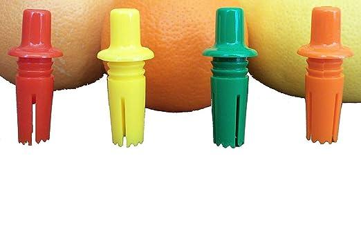 Lot Packs Citra Sipper Smallest Citrus Spout Juicer Squeater Orange Grapefruit(4-Pack)