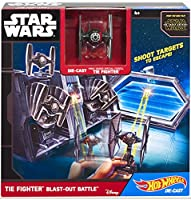 Hot Wheels Star Wars TIE Fighter Blast-Out Battle Play Set