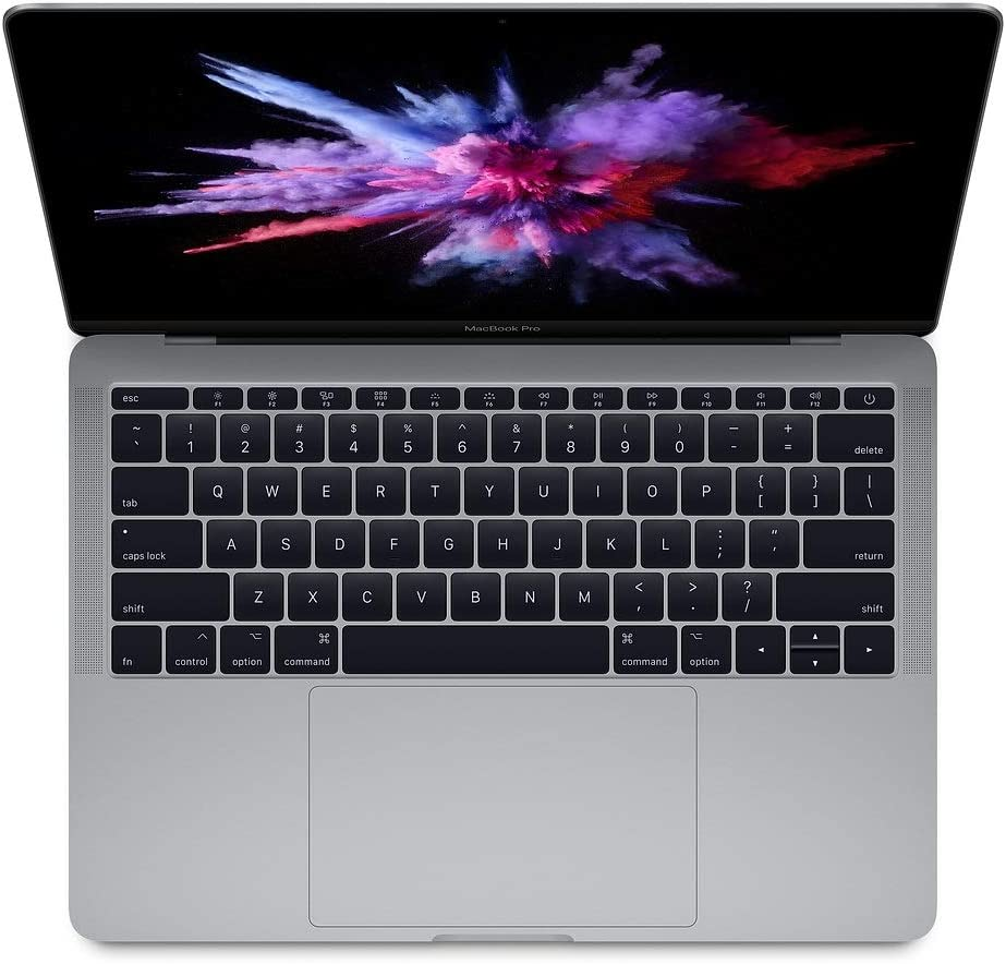 "Apple 13.3"" MacBook Pro (Mid 2017), 227ppi Retina Display, Intel Core i5 2.3GHz, 128GB PCIe SSD, 8GB DDR3, 802.11ac, Bluetooth, macOS Sierra, Space Gray (Renewed)"