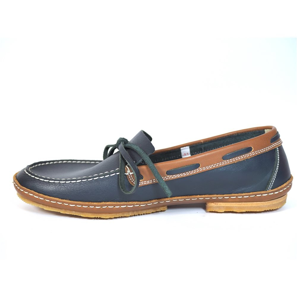 Zapatos Apache 414B Marino-Cuero Viejo: Amazon.es: Zapatos y complementos