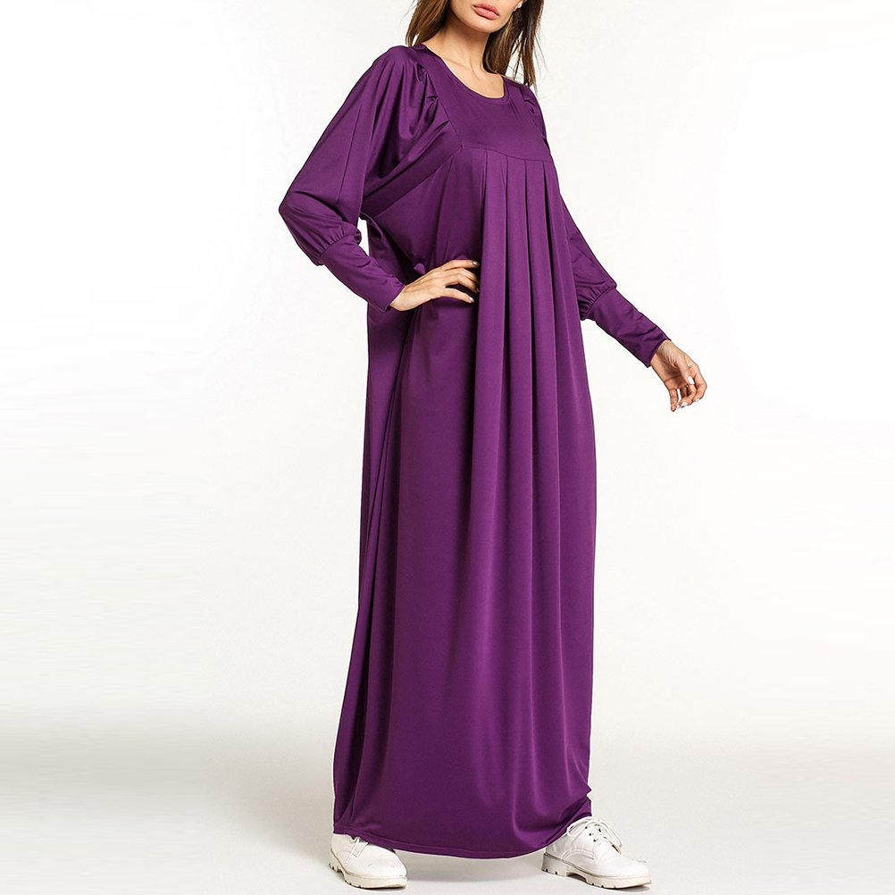 Zhuhaitf Ladies Malaysia Party Maxi Long Dress Dubai Middle East Islamic Muslims Wear at Amazon Womens Clothing store: