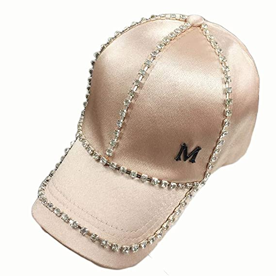 Gorra de béisbol de Diamantes de imitación, Gorro para el Sol de ...