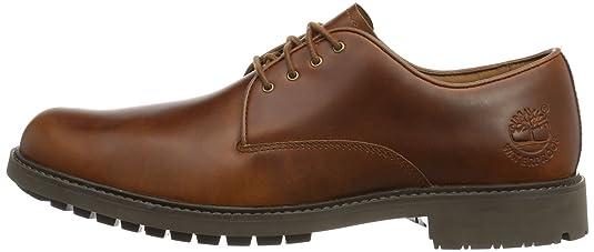 Timberland EKSTORMBK PTO TAN FG MEDIUM BROWN, Scarpe stringate uomo, Braun (Medium Brown), 45