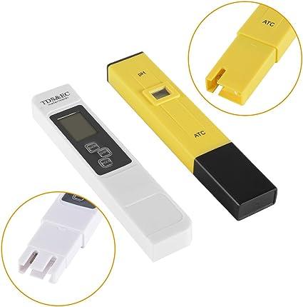 XCSOURCE® 3in1 TDS + EC + medidor de la temperatura y medidor del ...