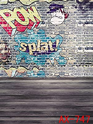 THINKER HD IMAGE 5x7FT brick wall The ruins of the city Indoor Studio photography Background Computer-Printed Vinyl Backdrop(AX-747)