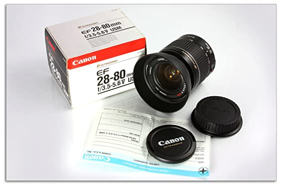Review Canon 28-80 F/3.5-5.6 V
