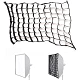 inseesi fotográfica Honeycomb cuadrícula para 60x 60cm/23.6x 23.6Pulgadas Estudio/estroboscópico Umbrella Softbox para Godox Yongnuo Speedlite Flash Pixel