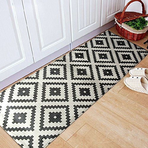 Very Cheap Price On The Black And White Kitchen Rug Comparison Price On The Black And White