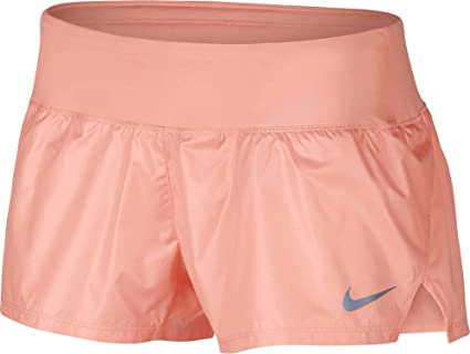sneakers authentic quality san francisco Nike W NK Crew Short LX - Shorts, Women's, Pink (Storm Pink ...