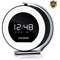Ear&Ear LED Light Alarm Clock Radio with Bluetooth Speaker