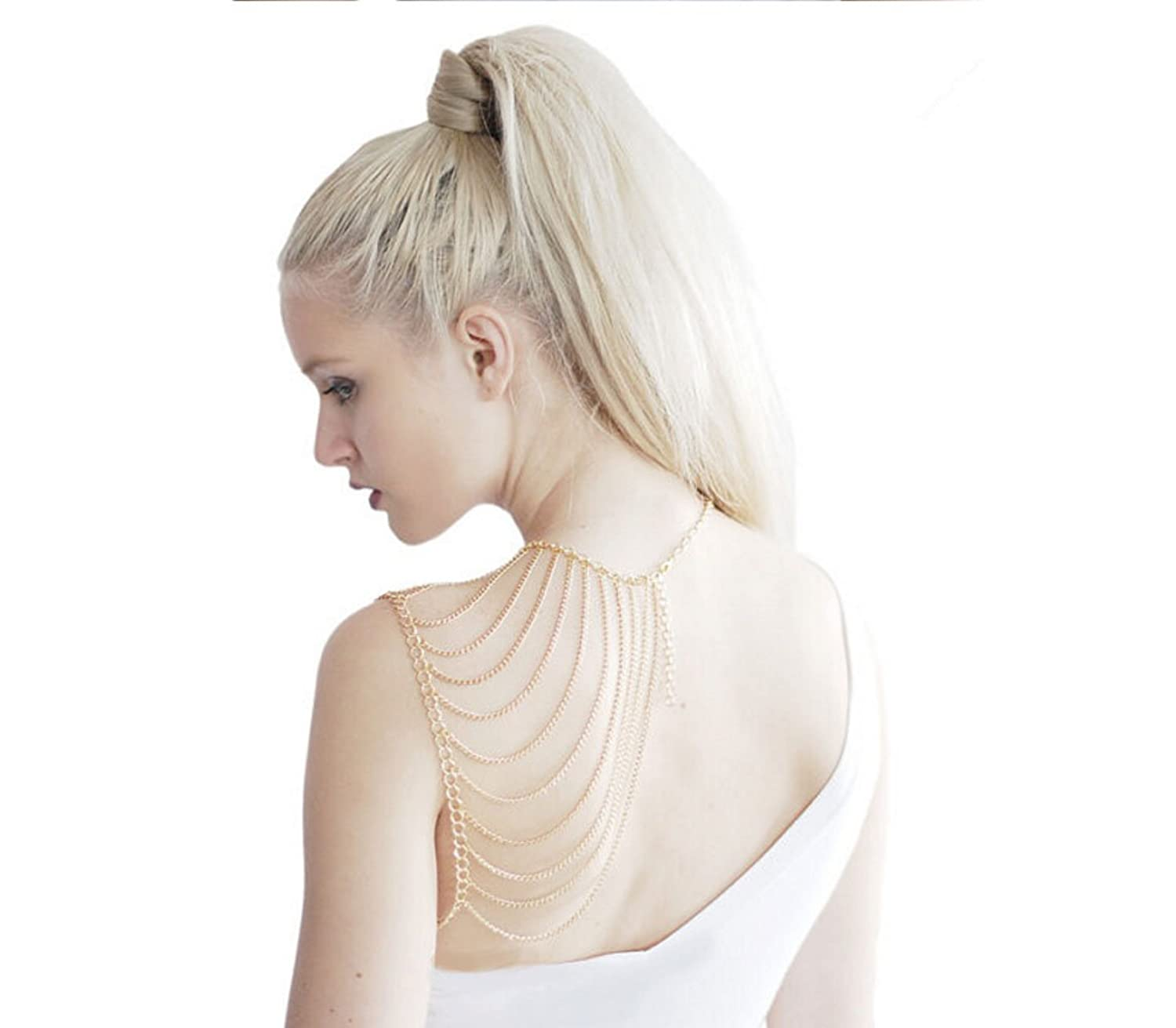 One Shoulder Jewelry