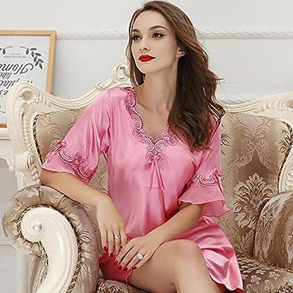 XYZHF**Mujeres Sexy extrema tentación pijama el temperamento y la ropa interior de seda